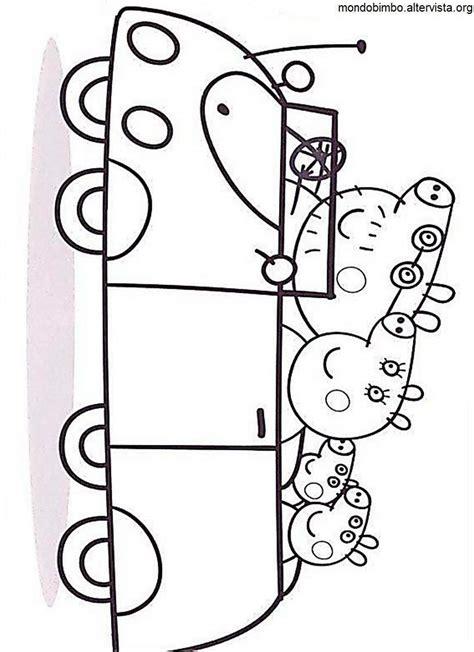 peppa pig coloring pages a4 peppa pig colorare peppa figli papa auto tutto da colorare