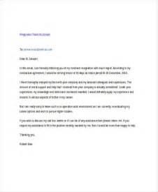 Resignation Letter Email Exle 17 Resignation Email Exles Sles