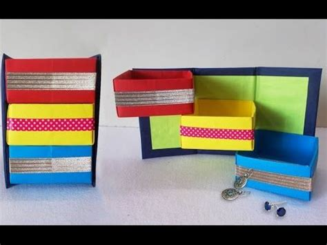 Origami Desk Organizer - diy projects how to make origami shelves desk