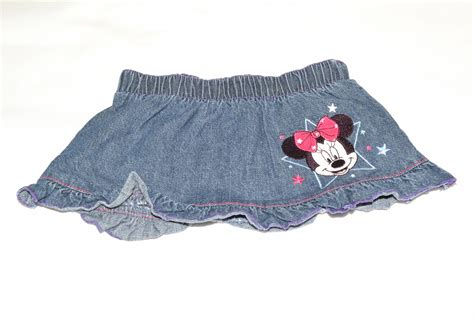 minnie mouse denim skirt 3 6 months aylsham