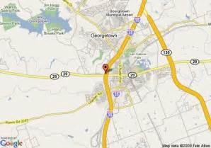 where is georgetown on map map of georgetown days inn georgetown