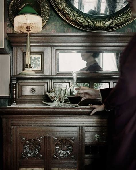 sideboard   dining room victorian homes