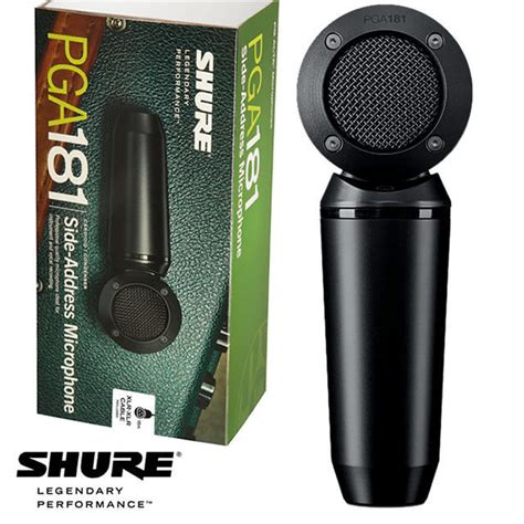 Microphone Condenser Pw 646 shure pga181xlr pg alta pga 181 side address condenser microphone inc 5m xlr xlr cable in