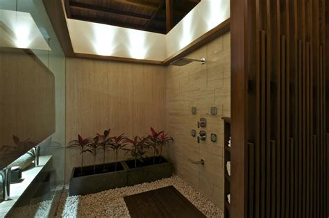 courtyard house in ahmedabad india home design shower room courtyard house by hiren patel architects