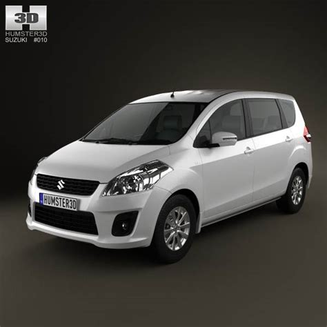 Maruti Suzuki All Model Suzuki Maruti Ertiga 2012 3d Model Humster3d