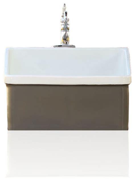 Brown Farmhouse Sink by Kohler Grey Brown Vintage Style Kohler Hollister Farm Sink