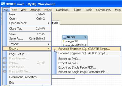 designing a mysql database tips and techniques devshed visual mysql database design in mysql workbench packt books