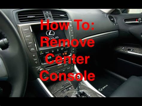 service manual how to remove cowl on a 2006 cadillac xlr 1931 cadillac 7 passenger no v16 how to remove lexus is 250 350 f center console and cigarette lighter youtube