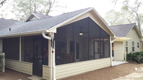 Screen Room Addition Screen Room Additions Tallahassee Fl Home Builders