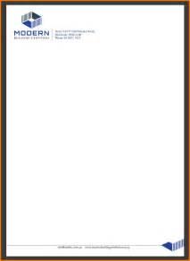 Business Letterhead Examples business letterhead design samples www galleryhip com