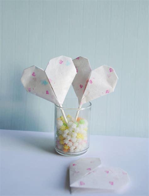 Origami Valentines - zakka craft origami valentines