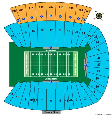 dowdy ficklen stadium seating chart usf football tickets seating chart dowdy ficklen stadium
