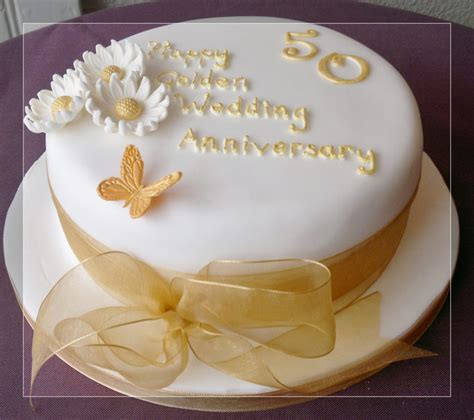 Golden Wedding Anniversary Ideas by Wedding Cake 50th Anniversary Cake Decorating Ideas
