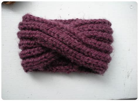 twist headband knitting pattern twisted knit headband pattern crochet and knit
