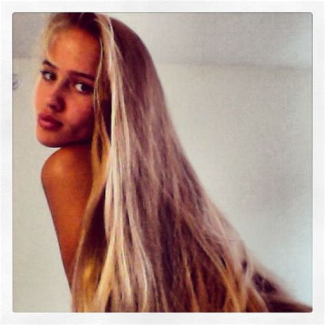 blonde long hair thin models eyes photos and pictures of on pinterest