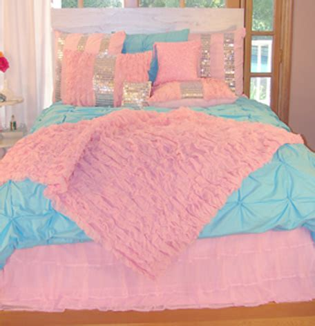young girls beds pizzazz pink and turquoise bedding our blog at sweet n