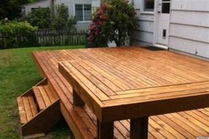 build a patio building a deck is how one initiated their new home