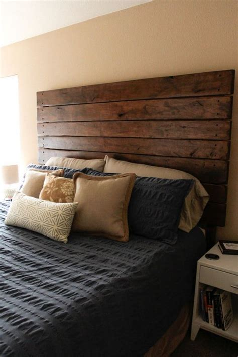 make your own king headboard easy diy wood plank headboard diy headboards bedrooms