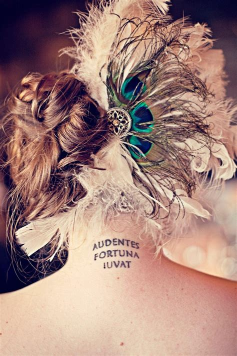 fortuna tattoo audentes fortuna iuvat contrariwise literary tattoos