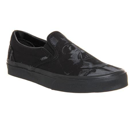 Vans Slip On X Wars Laris vans classic slip on shoes wars side black