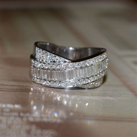 Wedding Bands Baguette Diamonds by Reserved And Baguette Cut Wedding Band 18k
