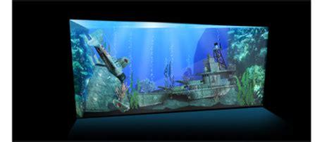 aquarium design concept battle ships and planes within a reefscape australia aquarium