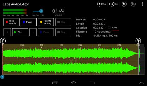 how to trim on android trim a sound file android lexis audio editor