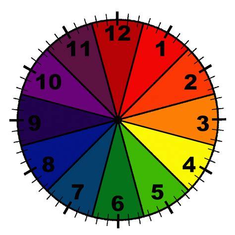 printable clock manipulative color wheel clock with minute lines free printable