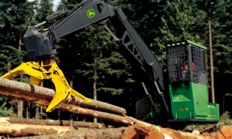 6 John Deere Forestry Machines You May Not Know About