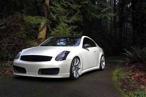 colored wheels white coupe with colored wheels g35driver infiniti