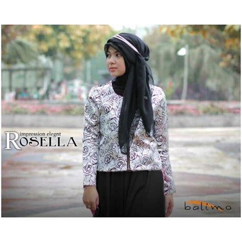 Cp A Coksu b rosella hitam cp baju muslim gamis modern