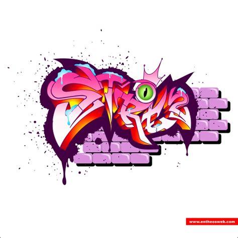 cara membuat outline graffiti fantastik desain desain grafity dengan coreldraw