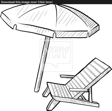 Slingback Beach Chairs Amazing Beach Chair Drawing 26 For Your Slingback Beach