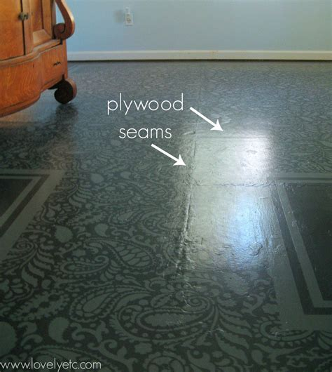 Dream House Designs by Painted Plywood Floor Update The Good The Bad And The