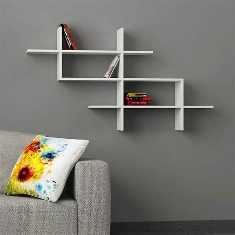 mensole design a muro naoki mensola design a muro libreria in legno 150 x 82 cm