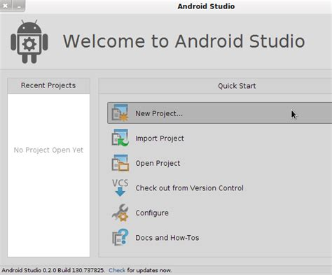 tutorial android studio project android sdk working with android studio