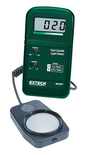 401027 Pocket Size Foot Candle Light Meter Extech