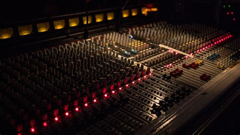 Mixer Audio Black Widow black audio mixer free image peakpx