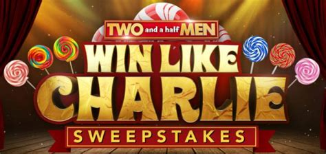 Two And A Half Men Sweepstakes - two and a half men win like charlie sweepstakes daily code word