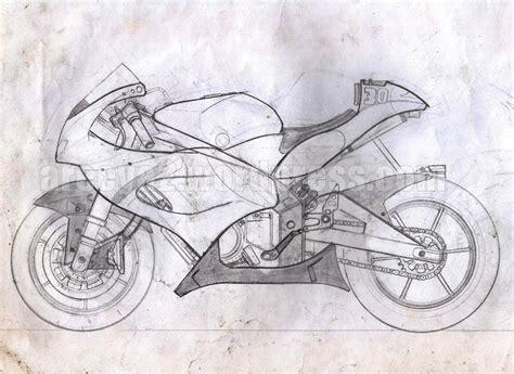 sketsa modifikasi motor cxrider