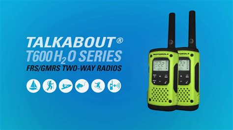 meet  powerful waterproof talkabout  ho series    radios youtube