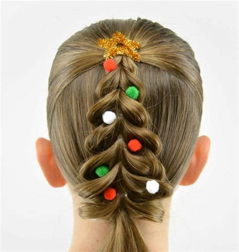 christmas themed hair 40 pretty fun and funky braids hairstyles for kids