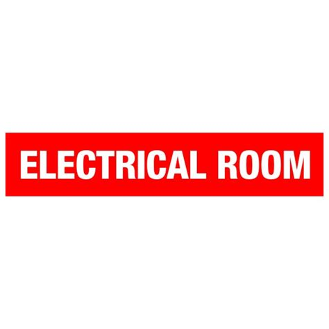 electrical room sign electrical room door sign 20 x 4 171 bc site service