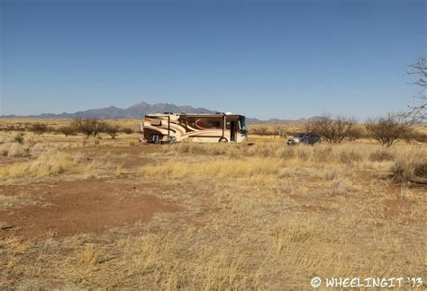 boondocking site review las cienegas national