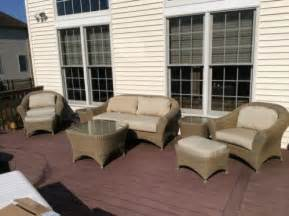 used outdoor patio furniture used outdoor patio furniture ebay