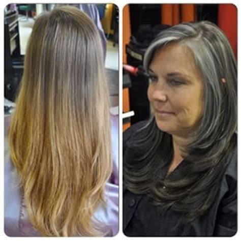 before after gray hair 17 best images about ditch the dye inspiration on