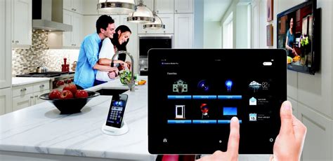crestron iphone home automation company uk