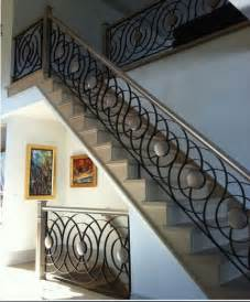 Ornamental Stair Railings by Trends Of Stair Railing Ideas And Materials Interior