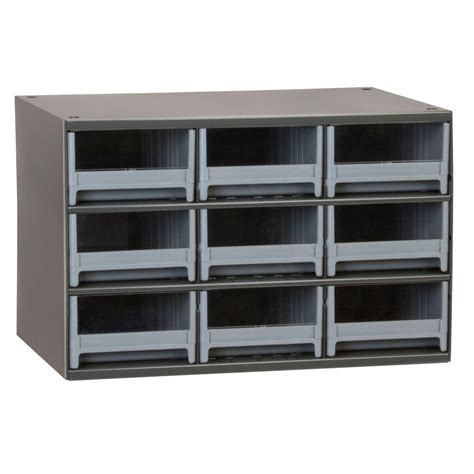 akro mils small parts storage akro mils 9 drawer small parts steel cabinet 19909 the