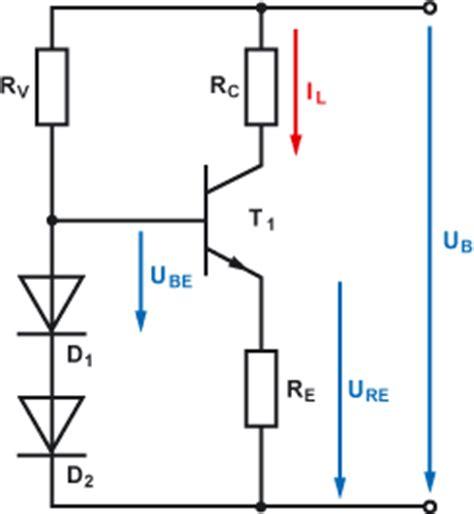 bipolar transistor berechnung transistor als konstantstromquelle